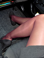 On the way in double Pantyhose
