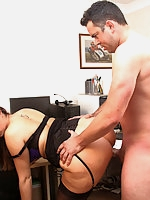 Paige has been dying to fuck her office handyman for sometime and finally she got her chance.