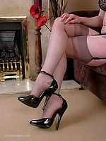 Doctor Holly is ready and waiting patiently for you to come to her in her very high stiletto shoes which will raise your fetish