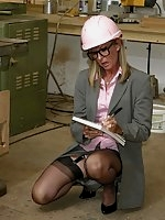 Safety Office In Stockings