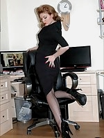 Office tease in seams
